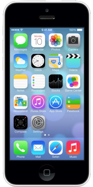 iPhone > iPhone 5C fra 2014-2015